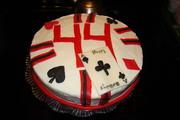 poker chip cake 002