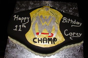 WWE Belt cake 001