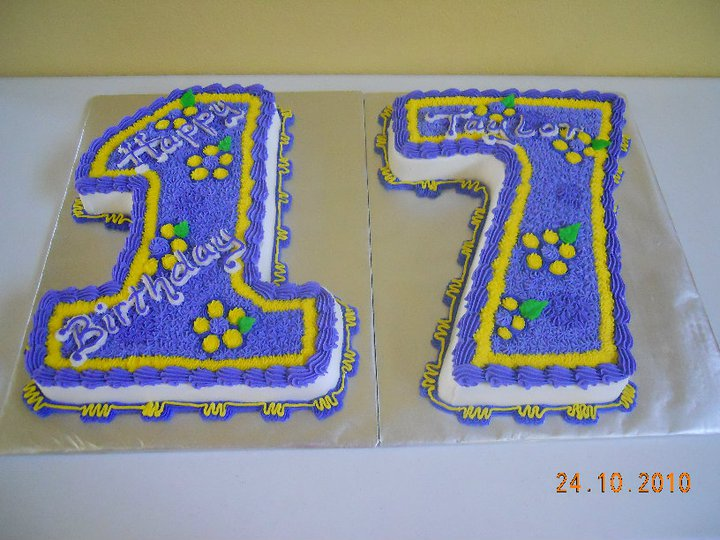 Brilliant 17Th Birthday Cake Decorating Community Cakes We Bake Personalised Birthday Cards Veneteletsinfo