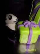Shelbys 17th birthday cake 006