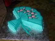 Fan cake