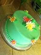 Ginger BDay cake