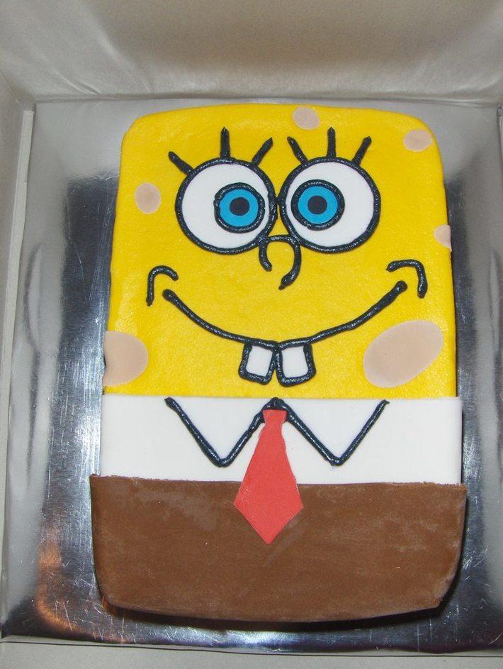 spongebob smash cake