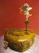 Steampunk valentin´s cake