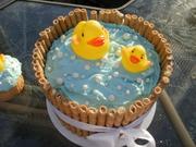 Washtub Rubber Ducky Cake 2
