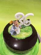Birthday Mouse cake