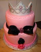 tiara cake for a 19 year old