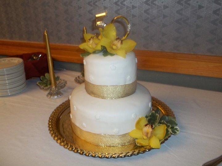 50th Anniversary cake.