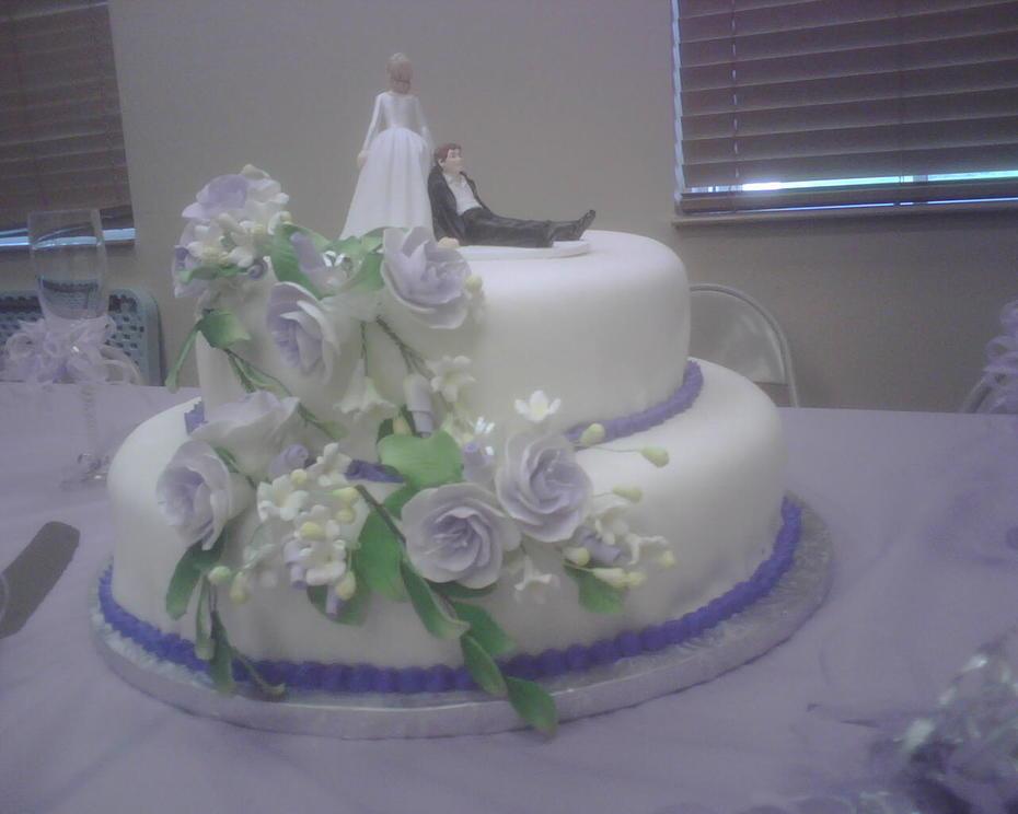 Michelles Wedding Cake