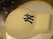 Yankees Hat Cake