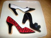 Shoe Cookies - Project Ladybug