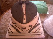Tuxido Grooms Cake