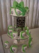 Zulfa's mini wedding cakes