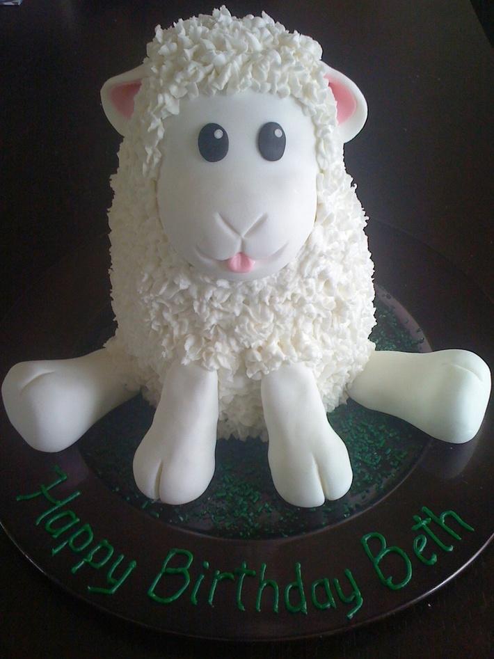 My Little Lamb cake
