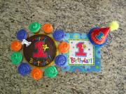 Dillon's first birthday cake
