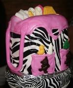 Zebra Baby Diaper Bag