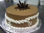 Chocolate cake.. Anchor's away!