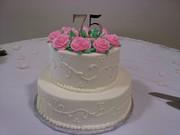 75th Anniversary cake