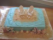 Beach / Ocean Cake