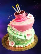 CAKE TOPSY TURVY