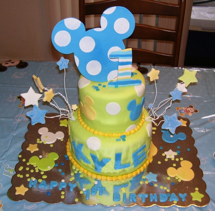 Baby Mickey's 1st Birthday