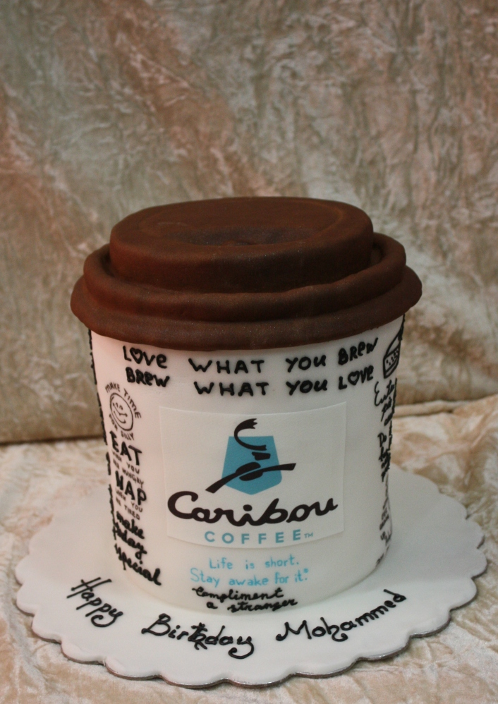caribou coffee cup