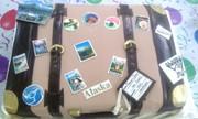 Luggage to Alaska Cake