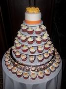 Bridal Cupcake Tower