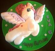 Winged Pony Birthday cake