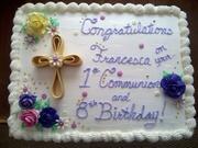 First Communion / Birthday Cake
