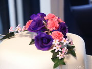 Rose and Carnation wedding spray