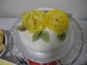 simple celebration cake