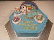 Unicorn/Hello Kitty Cake