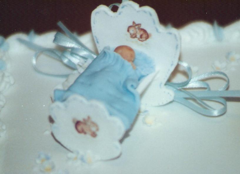 cakes 101Christening Cake - detail