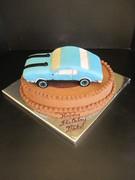 1969 Plymouth Baracuda Cake