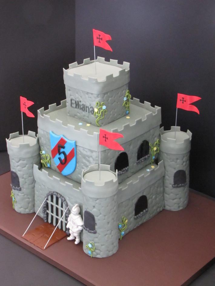 Fine Medieval Castle Birthday Cake Cake Decorating Community Cakes Funny Birthday Cards Online Overcheapnameinfo