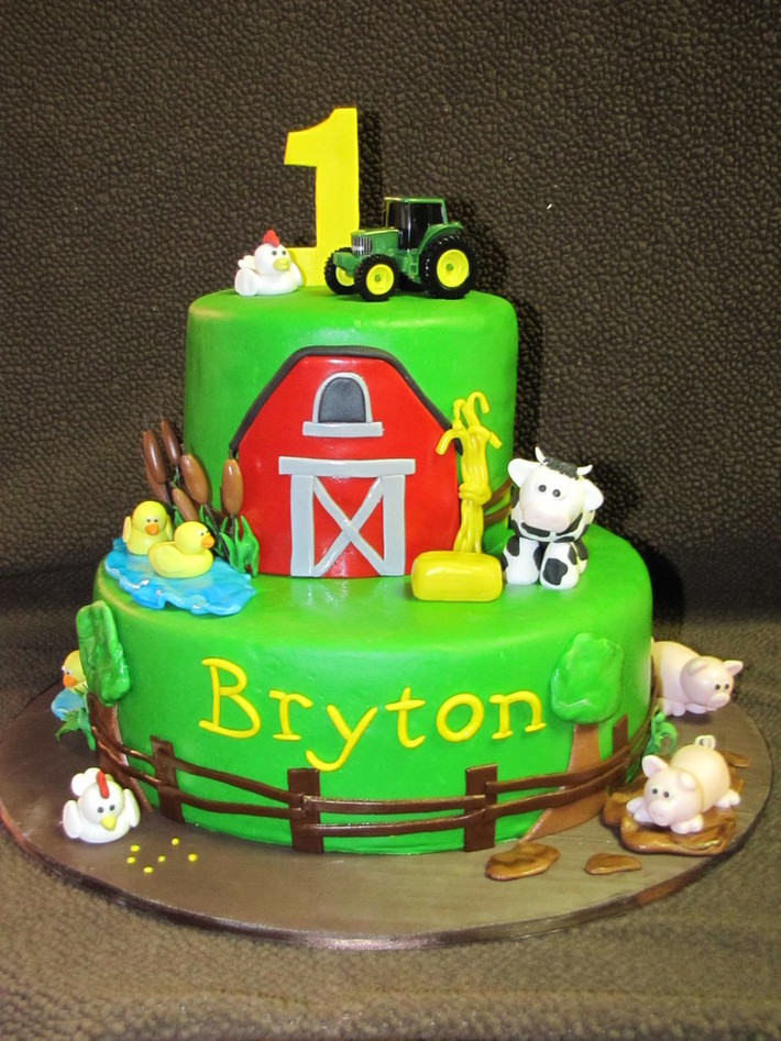 One Sweet Treat » John Deere Birthday Cake