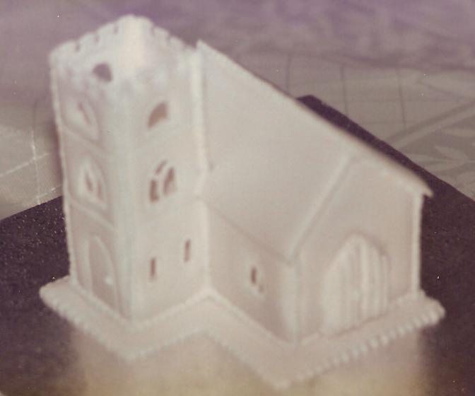 Church made from run sugar