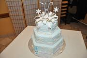 Kelly's Snowflake Cake