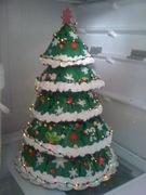 xmas tree cake - 612F