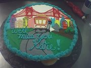 San Francisco cake