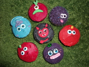 Fondant Fetish - Moshi Monster Cupcakes