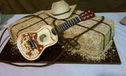 Bale of Hay - grooms cake