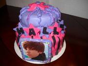 Justin Bieber Girls Birthday Cake