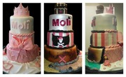 Copy of Princess and pirate cake