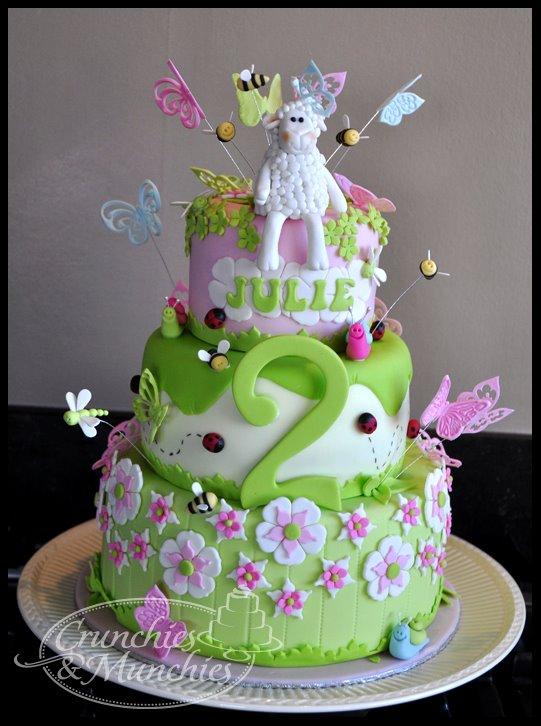 Spring birthdaycake