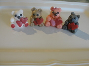 Bear cupcake toppers:)
