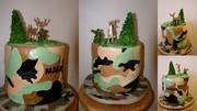 Mark's Camo Cake