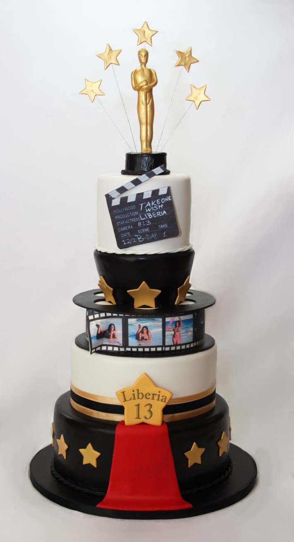Fine Hollywood Birthday Cake Cake Decorating Community Cakes We Bake Funny Birthday Cards Online Alyptdamsfinfo