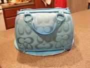 Blue Coach Bag